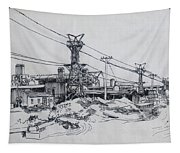 Industrial Site Tapestry