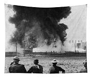 Industry: Oil Fire, C1902 Tapestry