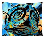 Infinity Time Cube Tapestry