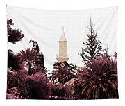 infrared Hala Sultan Tekke Tapestry