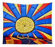 Inside A Hot Air Balloon Tapestry