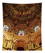 Interiors Of A Cathedral, St. Finbarrs Tapestry