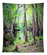 Into The Swamp Tapestry