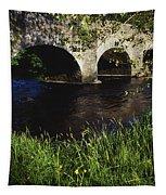 Ireland Bridge Over Water Tapestry