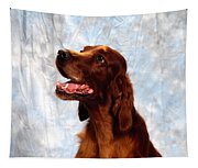 Irish Red Setter Tapestry
