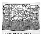 Iron Crown Of Lombardy Tapestry