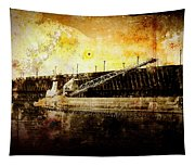 Iron Ore Freighter Tapestry