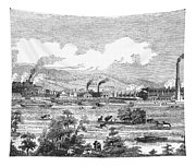 Iron Works, 1855 Tapestry