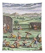 Iroquois Village, 1664 Tapestry
