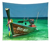 Island Taxi  Tapestry