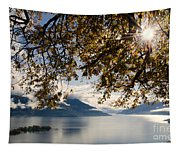 Islands On A Lake In Autumn Tapestry