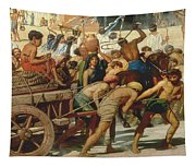 Israel In Egypt Tapestry