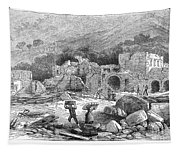 Italy: Earthquake, 1881 Tapestry
