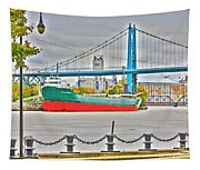 James M Schoonmaker And The Hi-level Bridge Tapestry