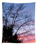 January Silhouette Tapestry
