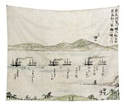Japan: Matthew Perry, 1854 Tapestry