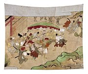 Japan: Peasants, C1575 Tapestry
