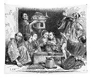 Japan: Sake, 1869 Tapestry