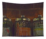 Jars Of Assorted Teas Tapestry