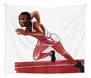 Jesse Owens Tapestry