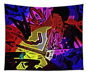 Jimi Hendrix Number 22 Tapestry