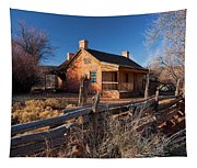 John And Ellen Wood Home Tapestry