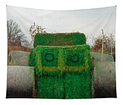 John Deer Made Of Hay Tapestry