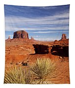 John Ford Point Monument Valley Tapestry