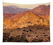 Joshua Tree Sunrise Panorama Tapestry