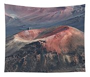 Kamaolii Cinder Cone - Haleakala Crater - View From Kalahaku  Tapestry