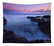 Kauai  Pastel Tides Tapestry