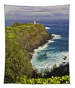 Kilauea Lighthouse Hawaii Tapestry