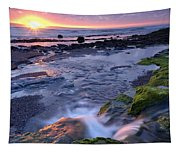 Killala Bay, Co Sligo, Ireland Sunset Tapestry