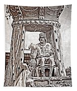 King Of Rex - Painted Bw Tapestry