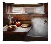 Kitchen - Sink - Farm Kitchen  Tapestry