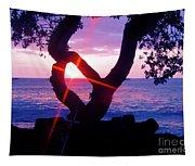 Kona Sunset Hawaii Tapestry