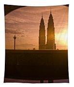 Kuala Lumpura Capital City Twin Towers Tapestry