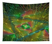 Lacy Rainbow Triangle Tapestry