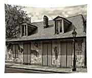 Lafittes Blacksmith Shop Bar In Sepia Tapestry
