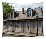 Lafittes Blacksmith Shop Bar New Orleans Tapestry