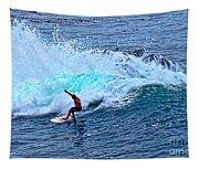 Laguna Surfer Tapestry