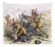 Lake George: Massacre, 1757 Tapestry