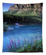 Lake Louise Banff Canada Tapestry