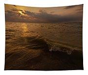 Lake Michigan Sunset Tapestry