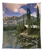 Lake Ohara Lodge Tapestry