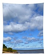 Lake Superior At Whitefish Bay Tapestry