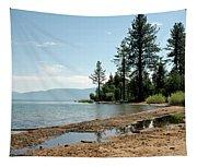 Lake Tahoe Beach Tapestry