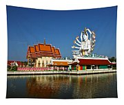 Lake Temple Tapestry