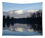 Lake With Mountain Tapestry