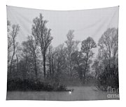 Lake With Trees Tapestry